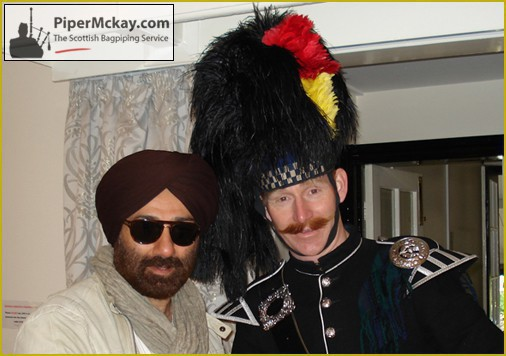 Sunny Deol - Piper Mckay - Bollywood