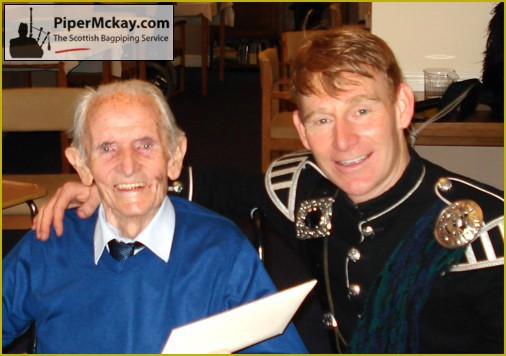 Piper Mckay with Jim. RIP Pal. We shared a Great Day!