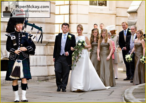 Piper Mckay at a VIP Wedding London