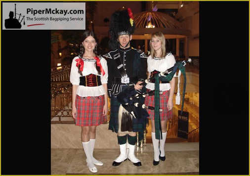 Scottish Evening - Piper Mckay in Kazakhstan
