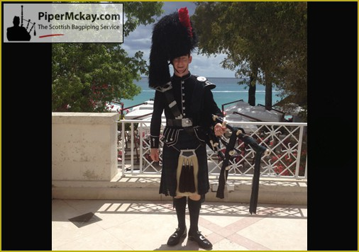 Piper Mckay at Sandy Lane, Barbados