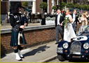 Wedding arrival with Piper Mckay