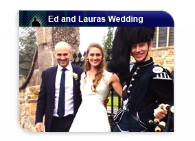 Ed Stafford and Laura Binghams Wedding with Piper Mckay