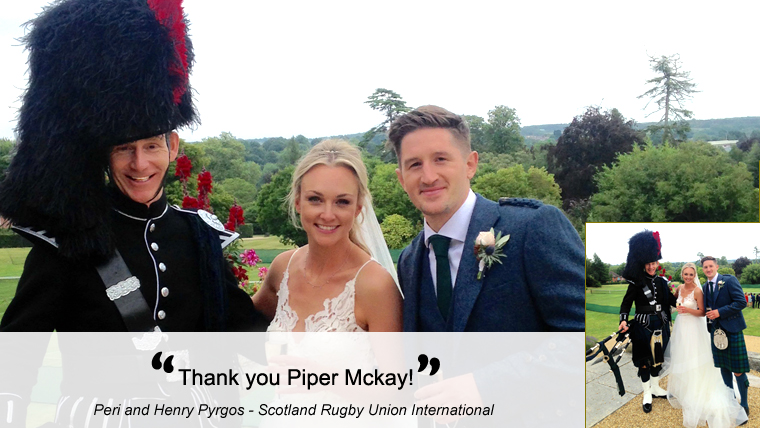 Peri and Henry pictured with Piper Mckay