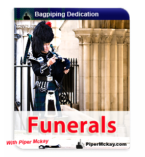 Scottish Bagpiper Hire for Funerals
