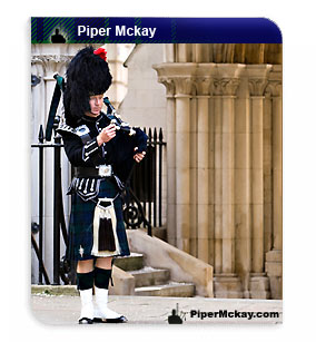 Scottish Bagpiper Piper Mckay