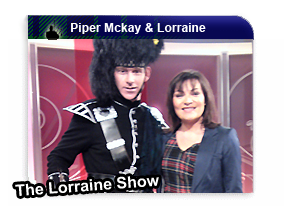 Piper Mckay and Lorraine Kelly