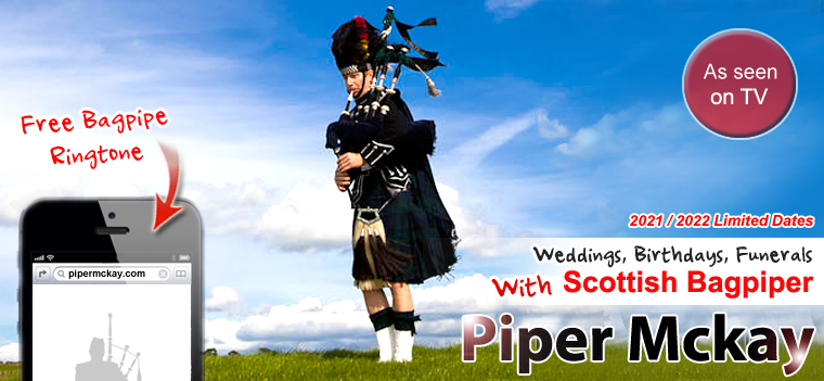 Piper Mckay - Scottish Bagpiper Hire