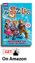 Zingzillas welcome to the island dvd with Piper Mckay
